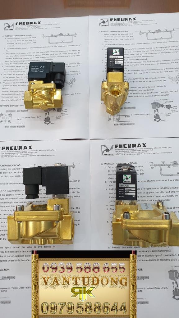 PLP25V PNEUMAX SOLENOID
